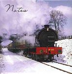 Steam Train Memo Pad and Pen