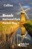 Broads National Park Pocket Map NYP 04/21