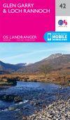 LR 042 Glen Garry and Loch Rannoch area