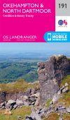 LR 191 Okehampton and North Dartmoor, Crediton