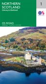 R1 North Scotland, Orkney and Shetland Road Map
