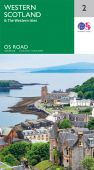R2 Western Scotland and the Western Isles Road Map