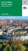 R3 Southern Scotland and Northumberland Road Map