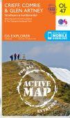 EXP OL 47 Crieff Comrie and Glen Artney ACTIVE