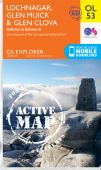 EXP OL 53 Lochnagar Glen Muick and Glen Clova ACTIVE