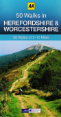 50 Walks Herefordshire and Worcestershire OP