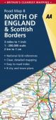 GB08 North England and Scottish Borders Road Map OP