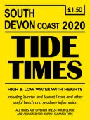 South Devon Coast Tide Times 2020