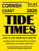 Cornish Coast Tide Times 2020