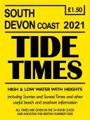 South Devon Coast Tide Times 2021