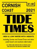 Cornish Coast Tide Times 2021
