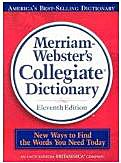 Websters 11th Collegiate Dictionary Thumbindex HB