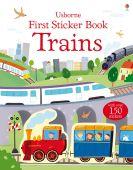 First Sticker Book Trains SP