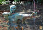 Nottingham A4 Calendar 2022