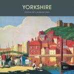 Yorkshire Poster Art Wall Calendar 2022