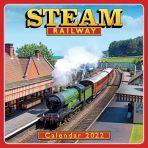 Steam Railway Square Wall Calendar 2022