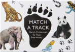 Match a Track - Match 25 Animals to Their Paw Prints (Game)