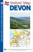 Visitors Map Devon