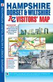 Visitors Map Hampshire, Dorset and Wiltshire