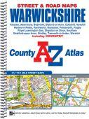 Warwickshire A-Z County Street Atlas Spiral