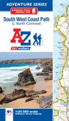 SW Coast Path North Cornwall Adventure Atlas 2