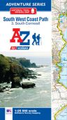 SW Coast Path South Cornwall Adventure Atlas 3