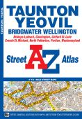 Taunton Yeovil Super Scale Street Atlas A4
