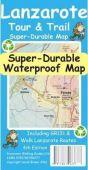 Tour & Trail Map - Lanzarote (Super-Durable)