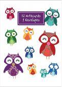 Owls Notecard Wallet