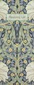 William Morris - Pimpernel Shopping List