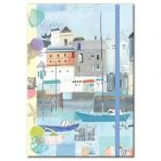By the Sea A5 Notebook