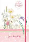 Edwardian Lady Sunny Meadows Sticky Notes Folder