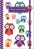 Owls Sticky Note Folder