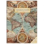 Antique Maps Gift Wrap Collection