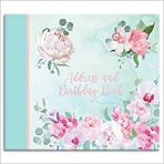 Belle Fleurs Address & Birthday Book