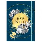 Bee Wild A5 Notebook