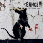Banksy Square Wall Calendar 2022