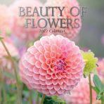 Beauty of Flowers 16 Month Calendar 2022