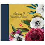Flourish Address & Birthday Book
