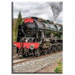 Steam Trains A5 Padded Diary 2022