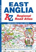 Regional Road Atlas East Anglia