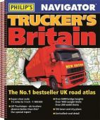 Navigator Trucker's Britain 2019 Road Atlas (Spiral) 1:100,000 Scale
