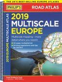 2021 Multiscale Europe Road Atlas A4 SP