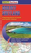 Orkney, Shetland Red Books Map