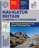 Navigator Camping and Caravanning Atlas of Britain Spiral