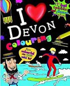 I Love Devon Colouring Book