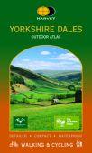 Yorkshire Dales Walking & Cycling Outdoor Atlas