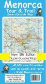 Tour & Trail Map - Menorca (Super-Durable)