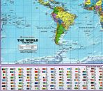 World Desk Mat