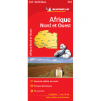 0741 Africa North and West Map